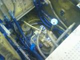 0.7クラスの旋回モーター(減速機)破損交換